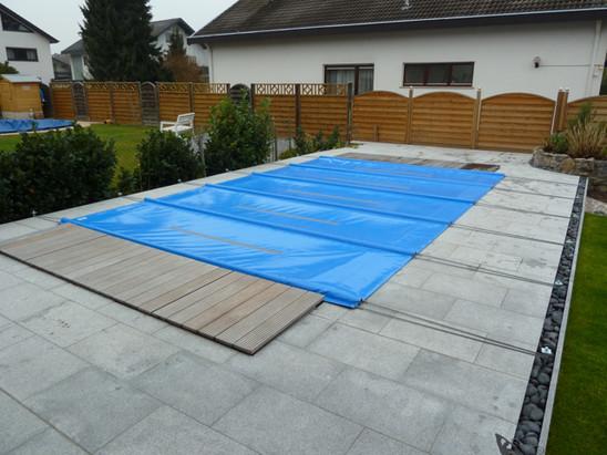 Poolabdeckungen schwimmbadabdeckungen - Rechteckiger pool ...