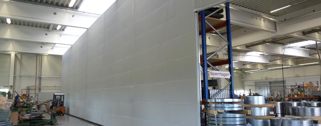 Sehr Industrieschallschutz - Schallschutz Industrie - Schallschutz HQ47